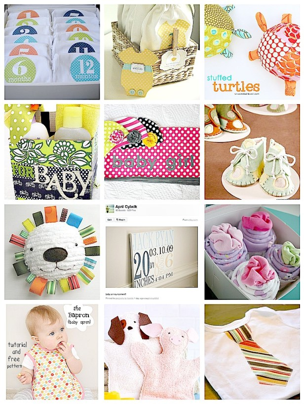 These handmade gifts make the most perfect, unusual baby gifts. Creating handmade gifts for babies is the sweetest way of gifting the little ones. Got many nice ideas from this post.