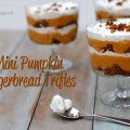 pumpkin gingerbread trifles