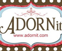 adorn it polka dot logo