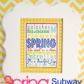Spring Subway Art header