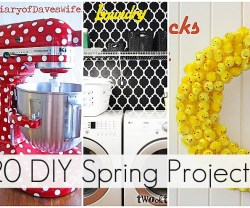Great Ideas — 20 DIY Spring Projects to Make!