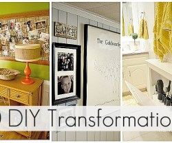 Great Ideas — 30 DIY Transformations!!