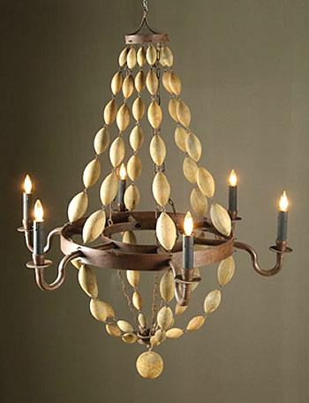 make a diy beaded chandelier. Black Bedroom Furniture Sets. Home Design Ideas