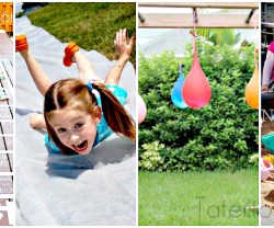 12 outdoor kid ideas