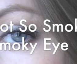 not so smoky eye