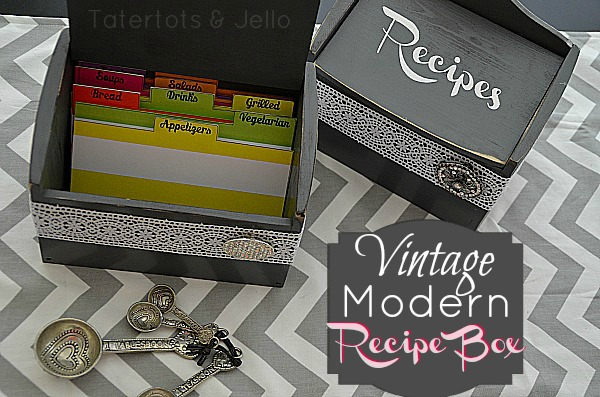 Modern Recipe Cards Recipe Card Holder – With
