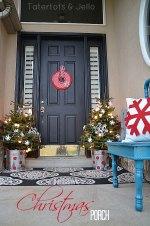 My Christmas Porch #LowesCreator