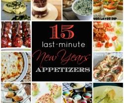 15 last minute appetizers