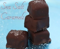 sea salt caramels recipe