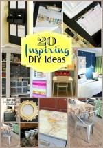 Great Ideas — 20 Home DIY Ideas!!