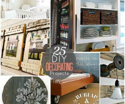 25 diy decor projects