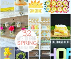 32 ways to bring spring into your home