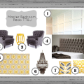 master bedroom redo inspiration board