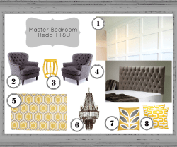 Master Bedroom Update and The Inspiration Board!