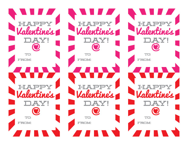 Happy Valentineu0027s Day Gift Tags