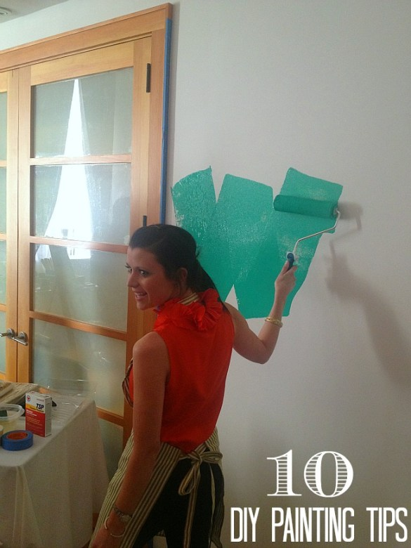 10 diy painting tips