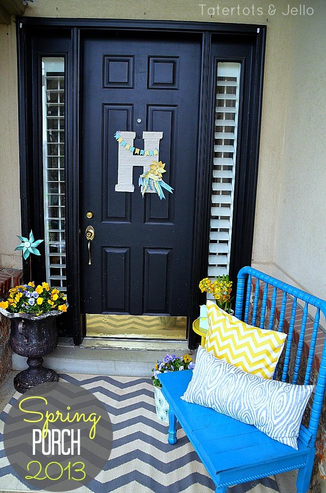 spring porch 2013