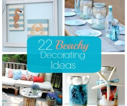 Great Ideas — 22 Beachy Decorating Ideas