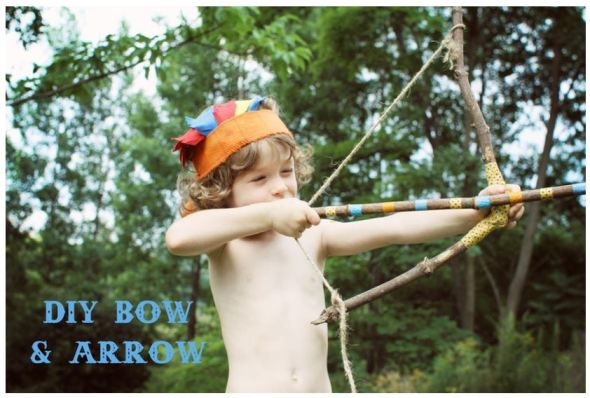 diy bow and arrow