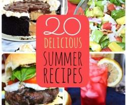 20 delicious summer recipes