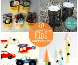 20 summertime kid activities