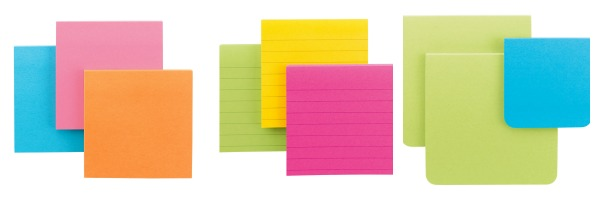 post-it study notes