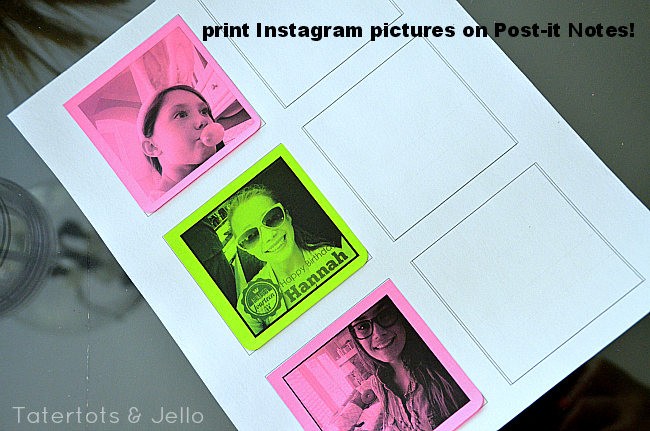 print-instagram-pictures-on-post-it-notes