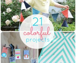 Great Ideas — 21 Colorful Projects