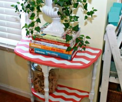 Paint-a-Chevron-Side-Table-with-Mom-4-Real[1]