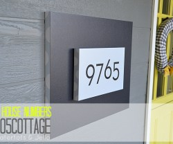 #1905Cottage – New Address Plaque!!