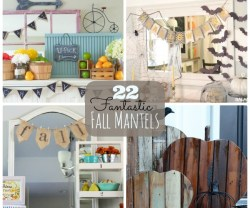 22 fantastic fall mantels