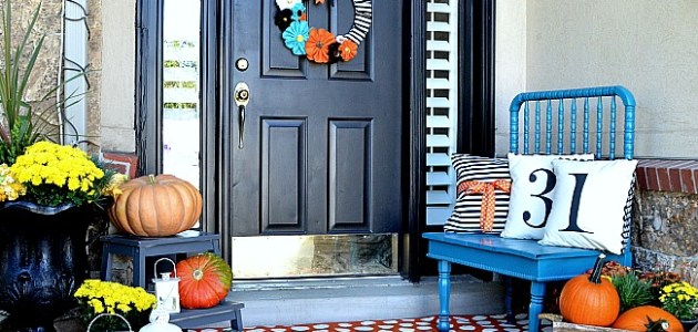 5 steps to the perfect front porch
