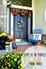 5 Tips to Creating a Beautiful Fall Front Porch!!