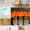 21 gold and glitter projects