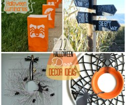 22 Halloween Door Decor Ideas at Tatertots and Jello