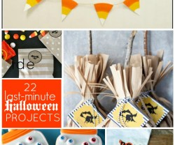 Great Ideas — 22 Last-Minute Halloween Projects!!