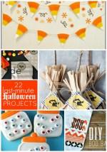 Great Ideas — 22 Last-Minute Halloween Projects!!