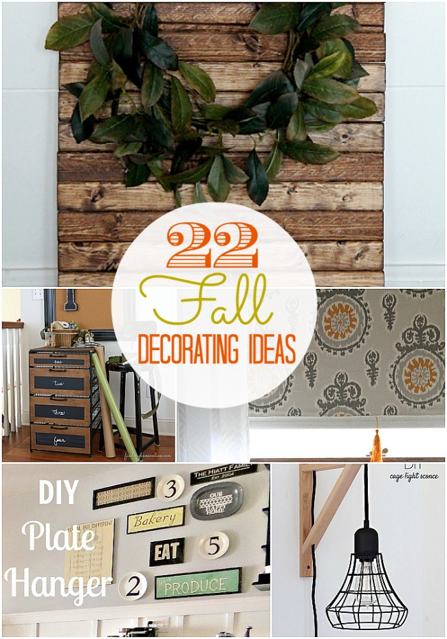 22 fall decorating ideas at tatertots and jello