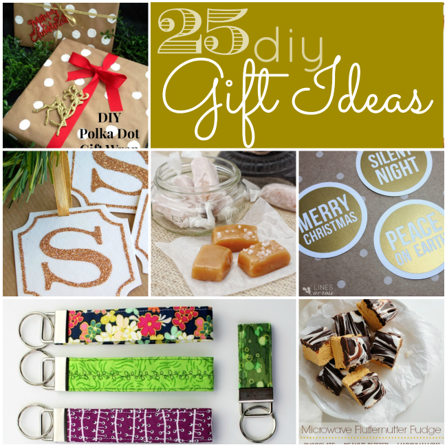 25 diy gift ideas to make
