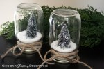 Happy Holidays: Waterless Snow Globes