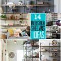 13 industrial shelving ideas