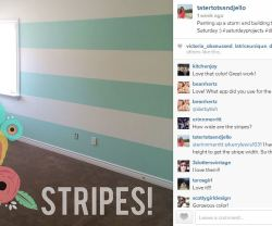 guest room stripes