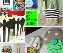 Great Ideas — 20 DIY Dots and Stripes Ideas!