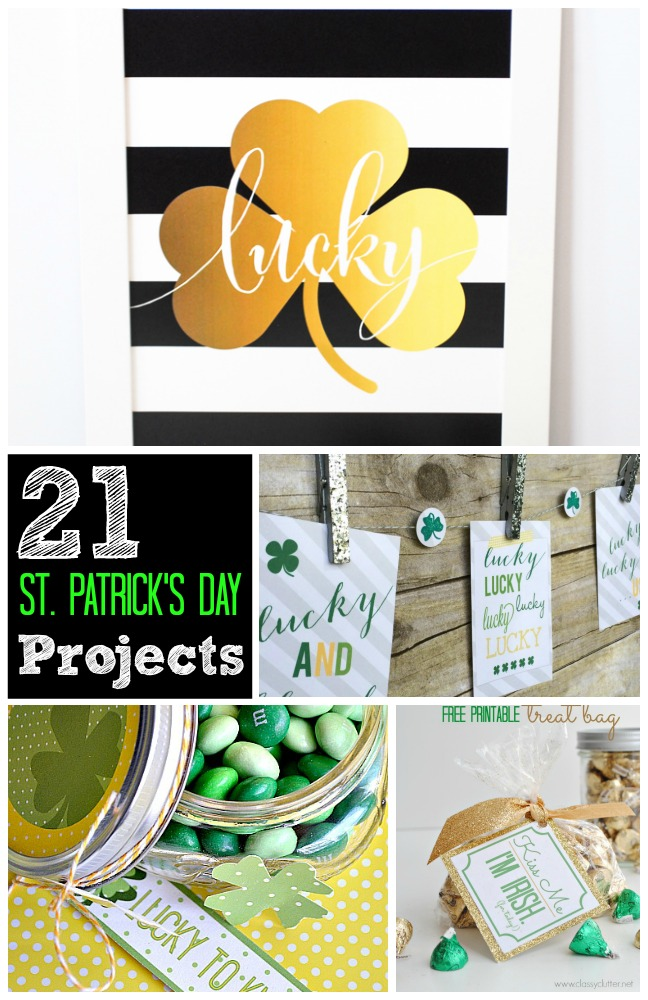 21 st. patricks day projects