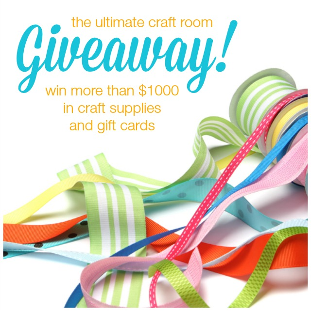 Ultimate Craft Room Giveaway IG