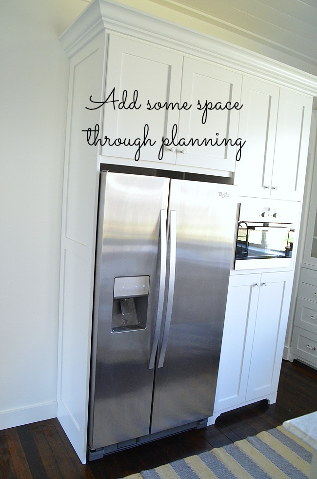 add some space through planning
