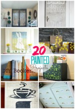 Great Ideas — 20 DIY Painted Projects for YOUR home!