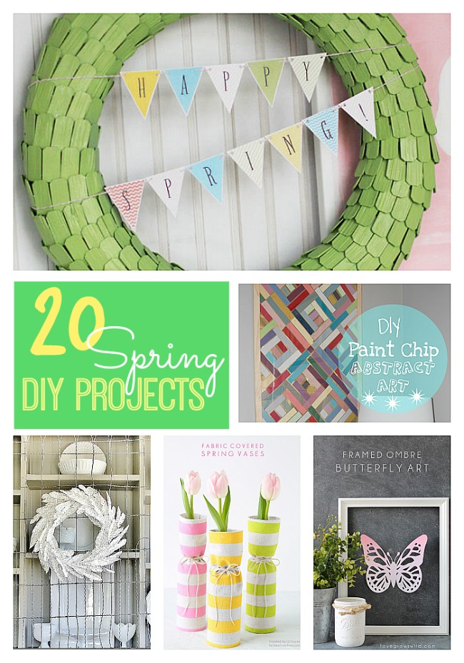 20 spring diy projects at tatertots and jello