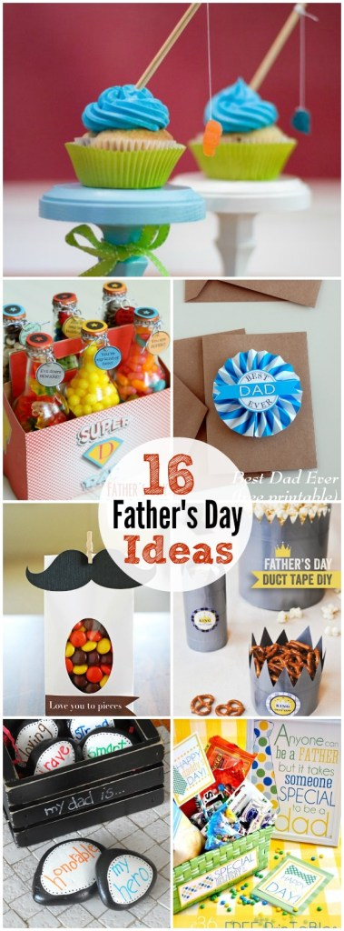 16 easy father's day ideas
