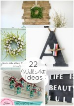 Great Ideas — 22 DIY Wall Decor Projects!